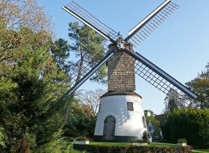 the old mill Knokke Belgium