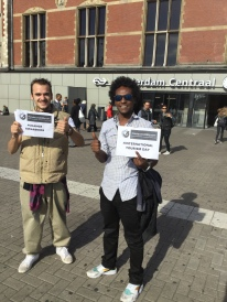 Support from Amsterdam #changeawareness #changeaccessibility